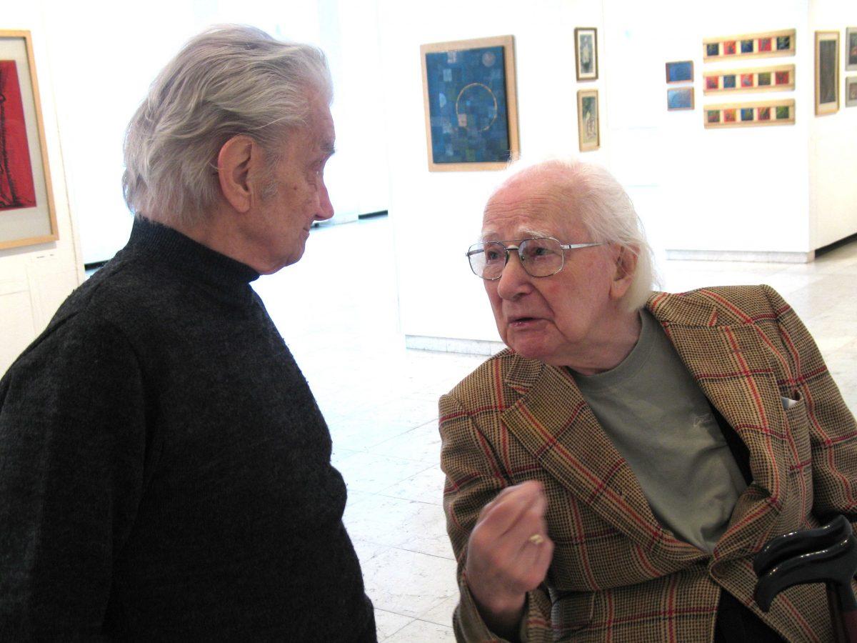 <b>Készítette:</b> Pál Éda<br>L.T. Papp Oszkár kiállításán<br>