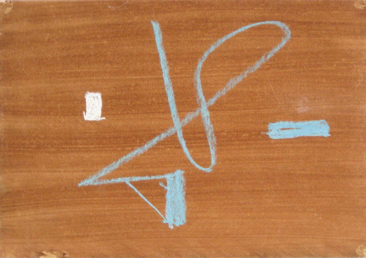 315(3)<br><b>Cím:</b> Friss<br><b>Év:</b> 1985<br><b>Méret            (mm):</b> 213x307<br><b>Technika:</b> pasztell<br><b>Jelezve:</b> nincs<br>