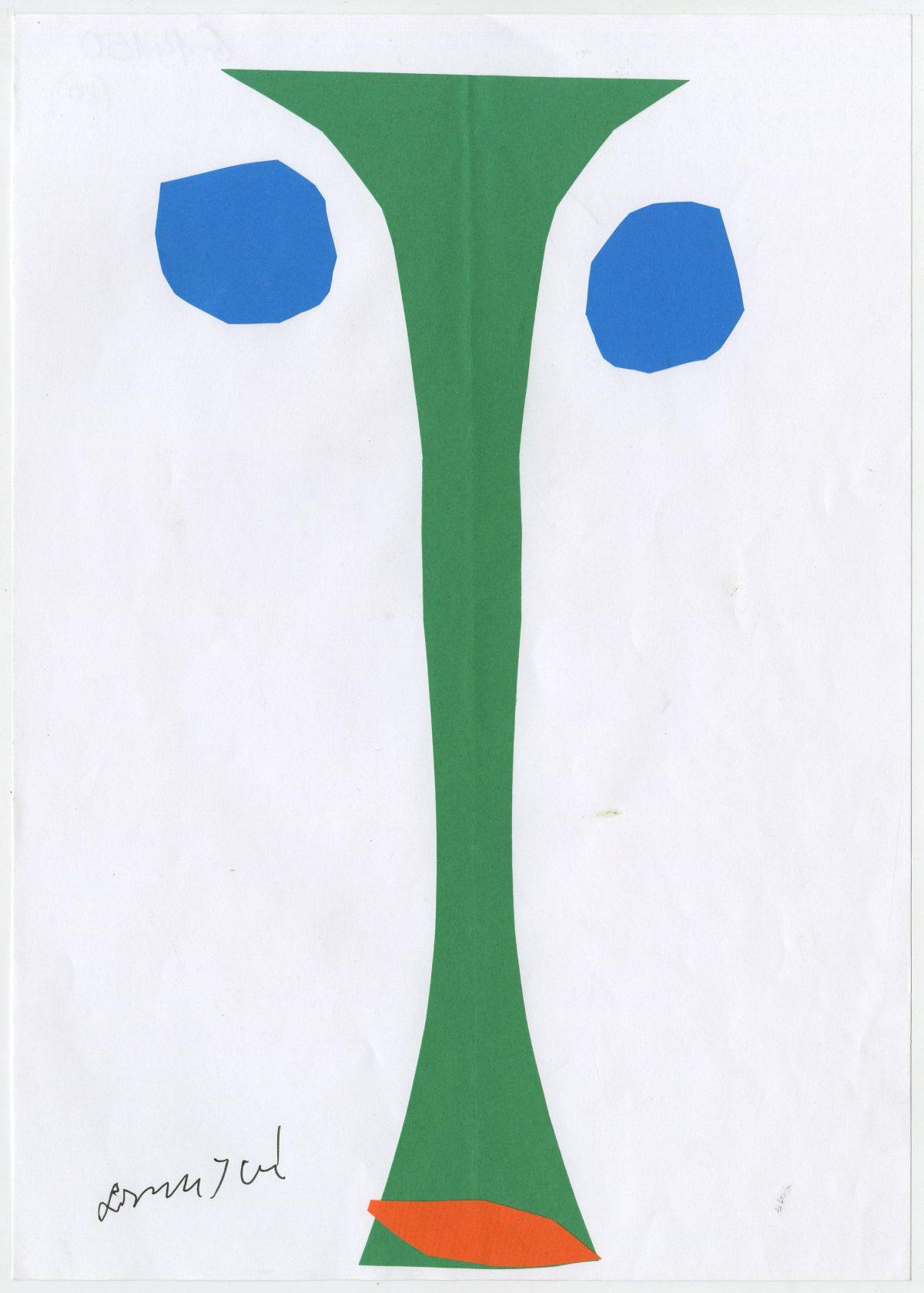 G14150(80)<br/> <b>Cím:</b> Matisse levele Munkácsynak … <br/> <b>Méret cm:</b> 29,6X21 <br/> <b>Készült:</b> 2005. <br/> <b>Technika:</b> kollázs<br/>