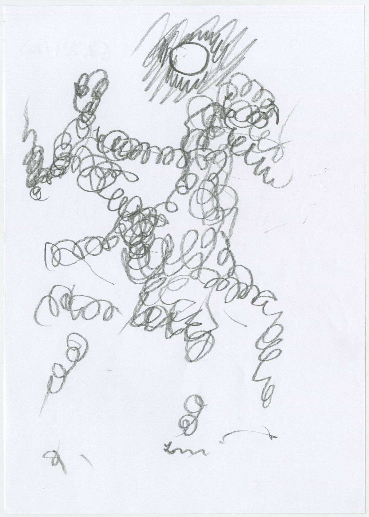 G16234(86)<br/> <b>Cím:</b> Ez is van, az is van, csak … <br/> <b>Méret cm:</b> 29,7x21 <br/> <b>Készült:</b> 2005. <br/> <b>Technika:</b> ceruza<br/>