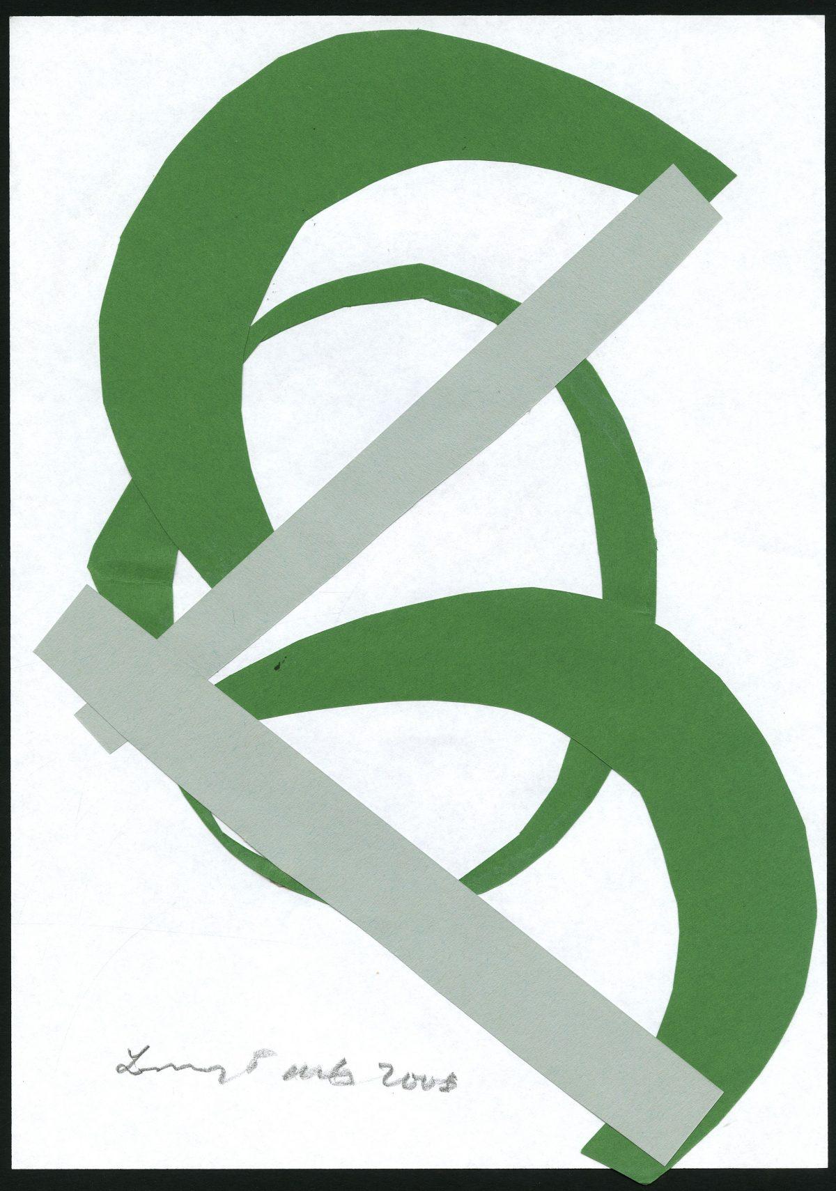 G27696(103)<br/> <b>Cím:</b> Meditációs objektum <br/> <b>Méret cm:</b> 29,8x21 <br/> <b>Készült:</b> 2008. <br/> <b>Technika:</b> kollázs<br/>