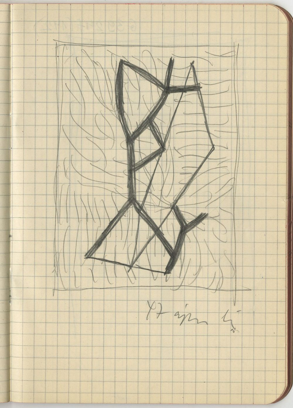 G39247(142)<br/><b>Cím:</b> Cím nélkül<br/><b>Méret (cm):</b> 17x12<br/><b>Készült:</b> 1947.<br/><b>Technika:</b> ceruza<br/>