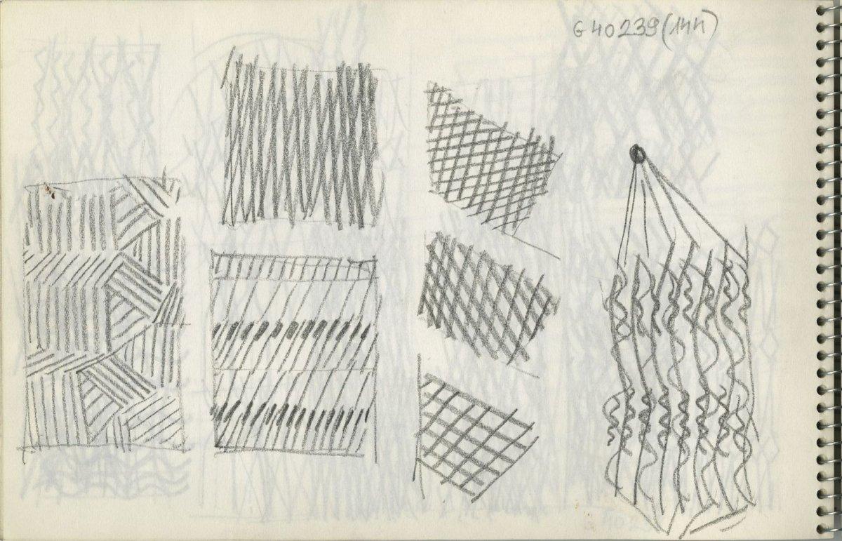 G40239(144)<br/><b>Cím:</b> Cím nélkül<br/><b>Méret (cm):</b> 15,5x24<br/><b>Készült:</b> 1970.<br/><b>Technika:</b> ceruza<br/>