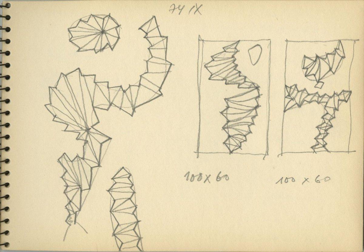G40586(144)<br/><b>Cím:</b> Cím nélkül<br/><b>Méret (cm):</b> 16,6x23,5<br/><b>Készült:</b> 1974.<br/><b>Technika:</b> ceruza<br/>