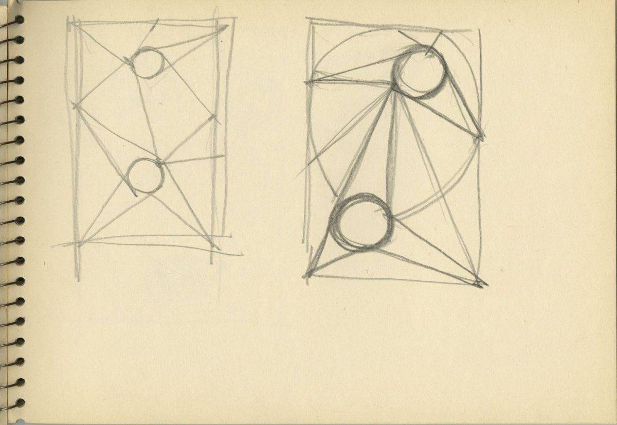 G40605(144)<br/><b>Cím:</b> Cím nélkül<br/><b>Méret (cm):</b> 16,6x24<br/><b>Készült:</b> 1980.<br/><b>Technika:</b> ceruza<br/>