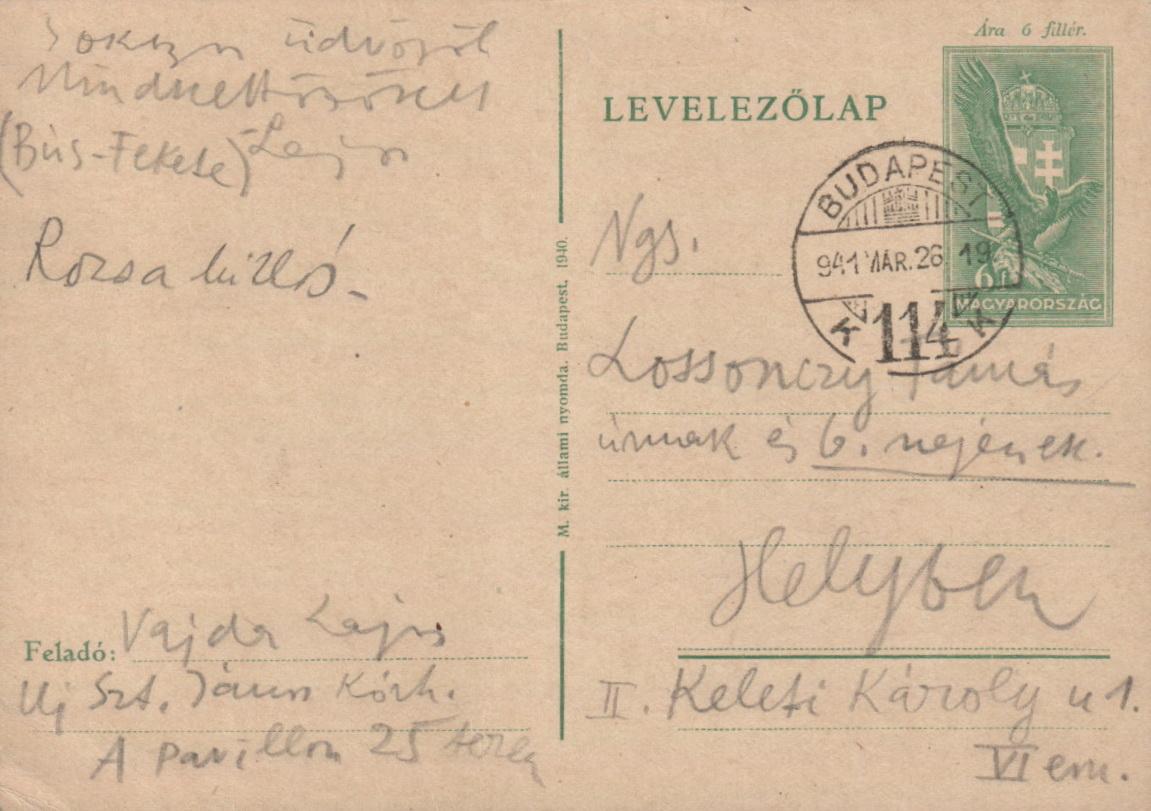 1941-03-26 Vajda Lajostól