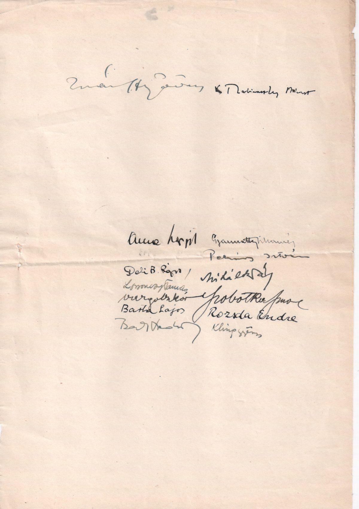 1946-08-06 Miniszterelnök Úrnak