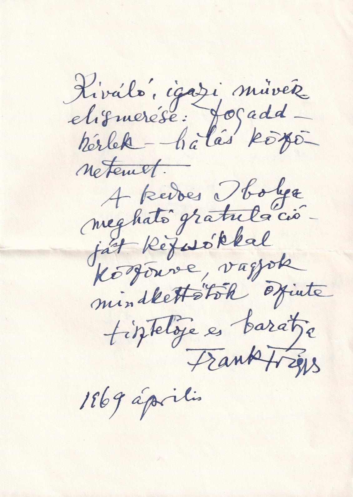 1969-04 Frank Frigyestől