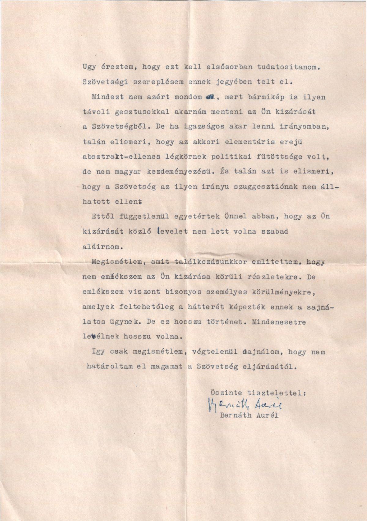 1971-01-17 Bernáth Auréltól